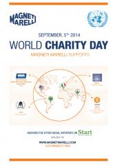 Magneti Marelli is celebrating the International Day of Charity